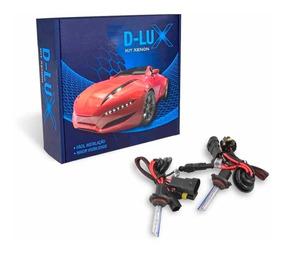 Kit Xenon D-lux 6000k H1 Branca