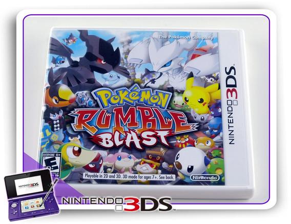 Pokemon Rumble Blast Original Nintendo 3ds