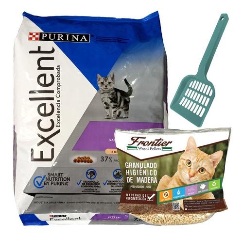 Imagen 1 de 2 de Purina Excellent Kitten (gatitos) 7,5 Kg + Envío + Regalo
