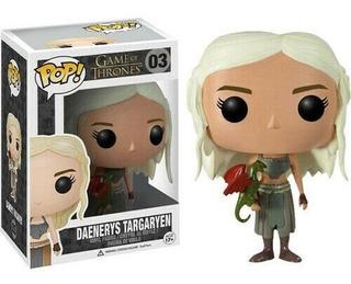 Funko Pop 3 Game Of Thrones - Daenerys Targaryen