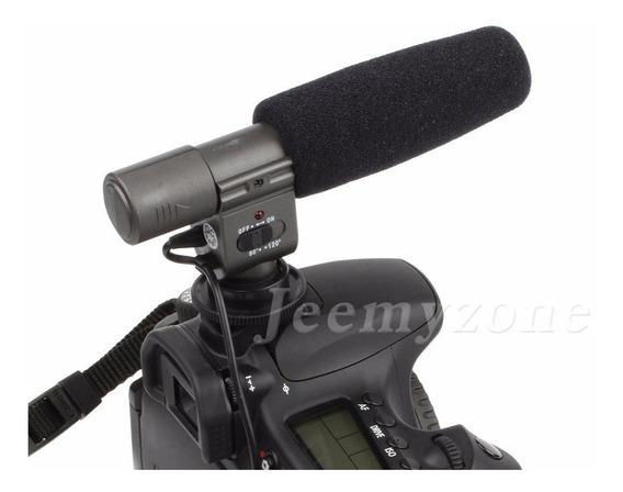 Microfone Shotgun Para Dslr Sg-108