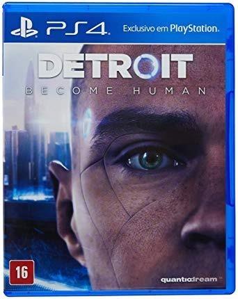 Detroit Become Human Ps4 - Mídia Física