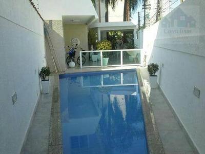 Casa Isolada Com 3 Dormitórios À Venda, 174 M² Por R$ 1.550.000 - Ponta Da Praia - Santos/sp - Ca0452