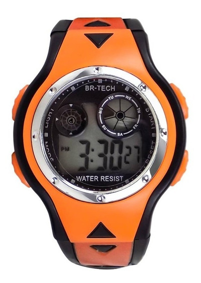 Relógio Masculino Digital Infantil À Prova D