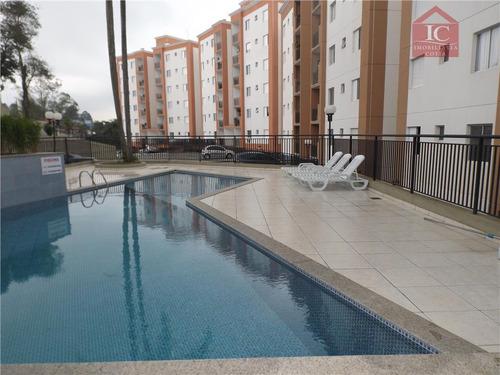 Apartamento Com 2 Dormitórios, Sendo 1 Suíte  À Venda, 70 M² Por R$ 330.000 - Jardim Sabiá - Cotia/sp - Ap0130