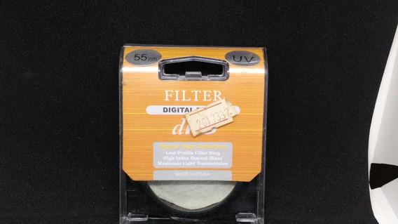 Filtro Uv 55mm