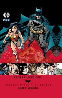Batman Falsos Rostros - Dc Ecc Comics - Robot Negro