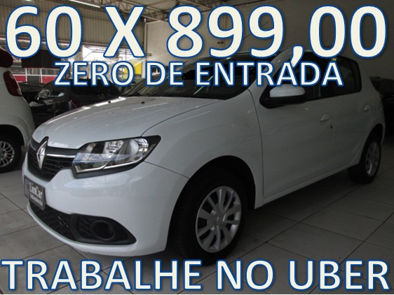 Renault Sandero Expression Completo Mais Media Nav(gps)