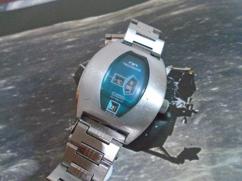 Technos Jump Hour Antigo S'70 Futurist Tenor Dorly Cal 1393