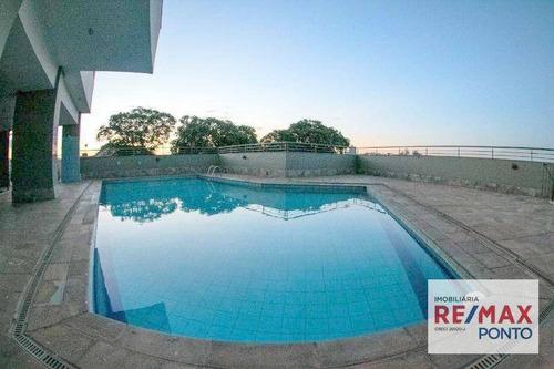 Apartamento Com 2 Dormitórios Para Alugar, 135 M² Por R$ 1.200,00/mês - Centro - Mogi Mirim/sp - Ap0013