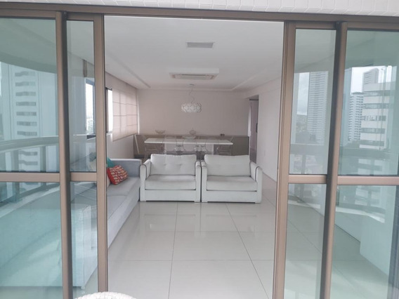 Apartamento Em Casa Forte, Recife/pe De 190m² 4 Quartos À Venda Por R$ 1.500.000,00 - Ap266621