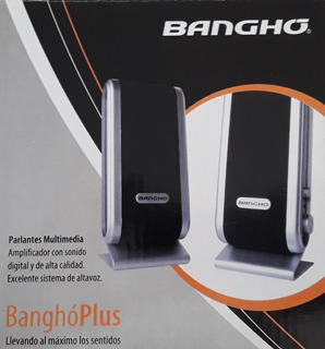 Parlantes Banghó Escritorio Pc Notebook Usb