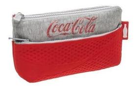 Estojo Necessaire Duplo Coca Cola Coleção Sport - Coca Cola