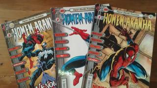 Hqs Coleção Homem Aranha Super Heróis Premium Nº 1 Ao Nº 17