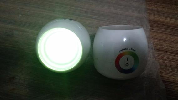 Luminária, Spot De Luz, Branca De Leds Rgb