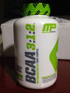 Bcaa 3:1:2 Musclepharm 240 Cápsulas