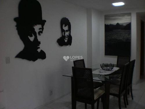 Apartamento À Venda, 76 M² Por R$ 455.000,00 - Pendotiba - Niterói/rj - Ap40502