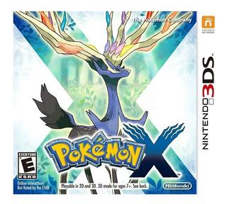 Pokemon X Para Nintendo 3ds