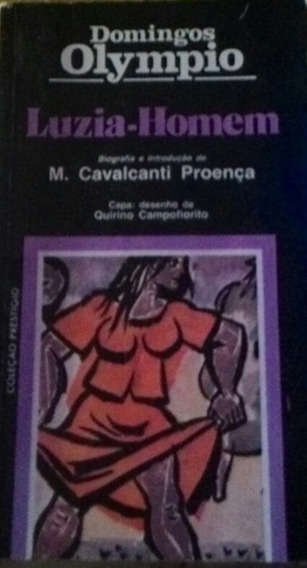 Livro Luzia Homem - Literatura Brasileira