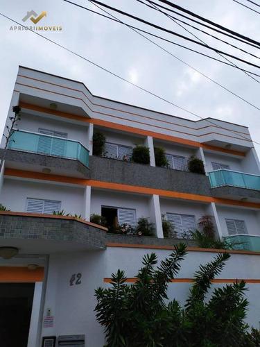 Cobertura À Venda, 162 M² Por R$ 470.000,00 - Vila América - Santo André/sp - Co0285