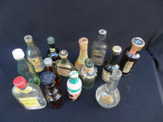 Lote Botellas Coleccion Pepsi Miniatura Antiguo Decoracion