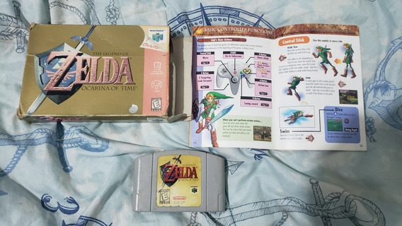 Zelda Ocarina Of Time 64 Completa