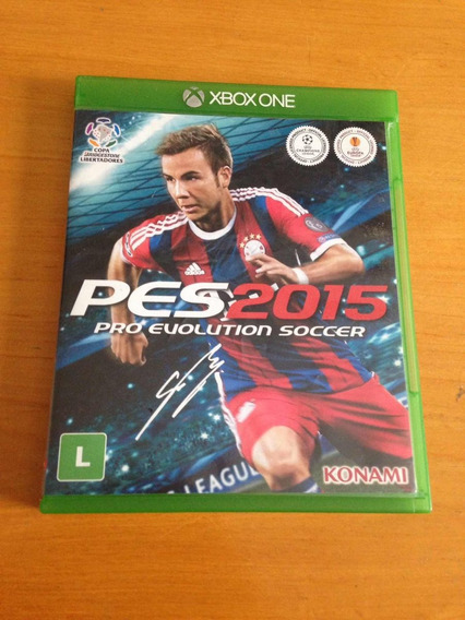 Pro Evolution Soccer 2015 Pes 2015 Xbox One R$67,99