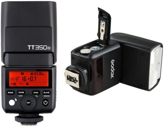 Flash Godox Tt350(n) Ttl Para Nikon (nfe)