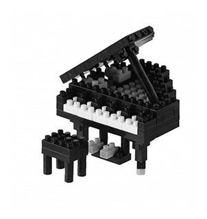Piano De Cola Nanoblock - Negro