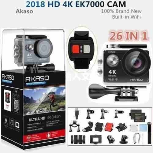 2019 Akaso Ek7000 Nuevo 4k Hd Acción Cámara Dv Videocám-2597