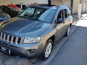 Jeep Compass 2.0 Sport Aut. 5p 2012 Teto Solar Baixo Km
