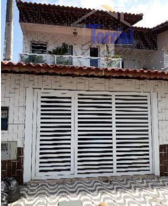 Sobrado Em Praia Grande, 03 Dormitórios Sendo 01 Suite No Boqueirão So0014 - So0014
