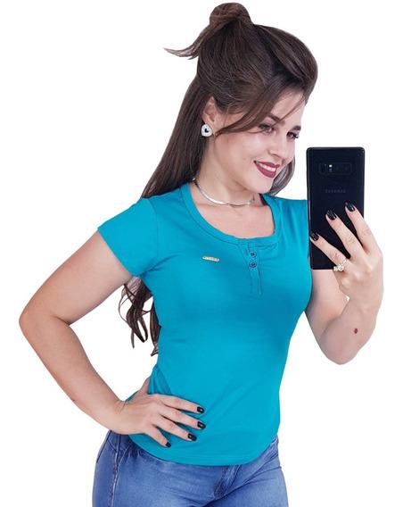 Kit 6 Blusas T-shirst Moda Feminina Atacado Frete Grátis