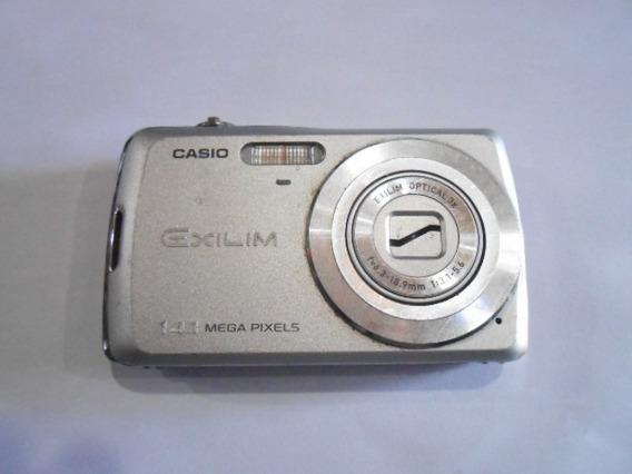 Câmera Casio Exilim Ex-zs5 14.1 Para Reaproveitamento N29-18