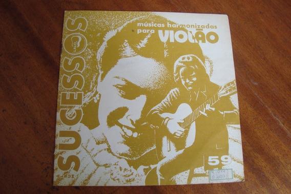 Revista Nelson Roos 59 / Album De Sucessos Para Violao
