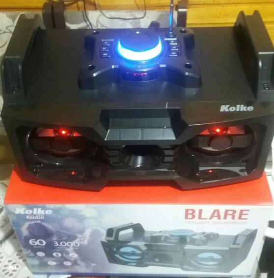 Caixa Som Bluetooth Sem Fio, Mp3, Radio Fm E Controle.