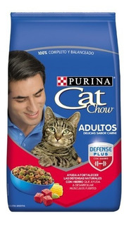 Cat Chow Adultos Delicias Carne X 15 Kg