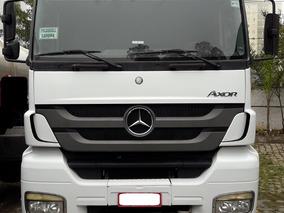 Mb Axor 2644 6x4 Automatica - Ano 2012 - Unico Dono - Nova