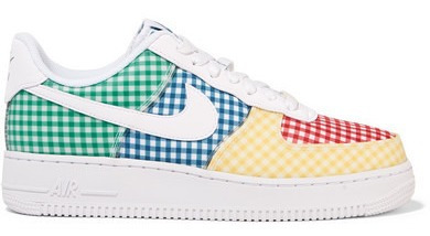Nike Air Force 1 Leather And Pvc-trimmed