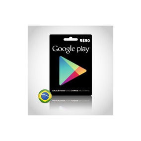 Vale Presente Play Store R$ 50,00