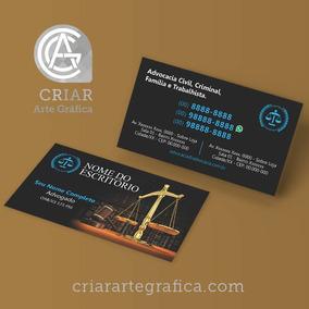 Modelo Cartão De Visita Editável Cartão De Visita Advogado