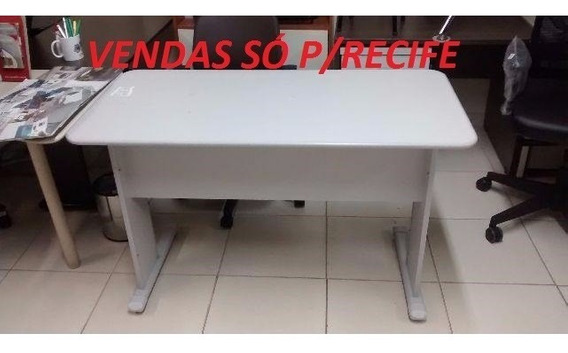Mesa 1,20x0,60 Cinza S/gaveta (usado) Vendas Só Para Recife