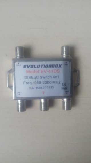 Chave Diseqc Switch 4x1