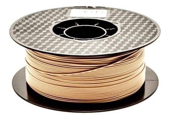Filamento Flashforge Pla Wood 1,0kg - Madeira Clara