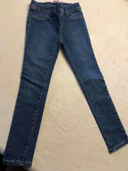 Jean Chupin Import Old Navy Tipo Calza Talle 6 Impecable