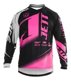 Camisa Motocross Trilha Pro Tork Jett Factory Edition Neon