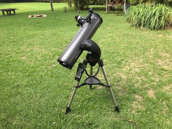 Telescópio Celestron Nextstar, Tripé Eletrônico E Acessórios
