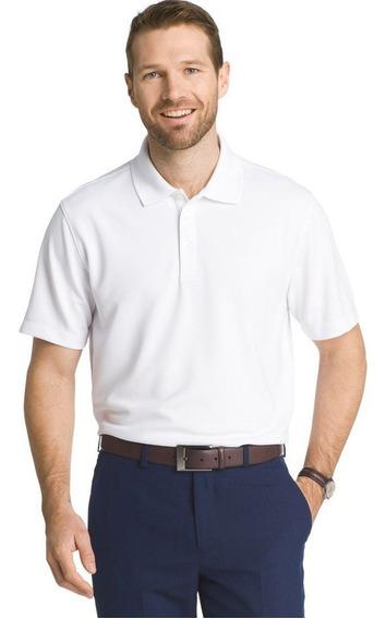 Van Heusen Air Ottoman Polo 4xl Hombre Golf Big Tall Camisa