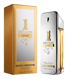 Perfume Paco Rabanne One Million 100ml Lucky 100% Original