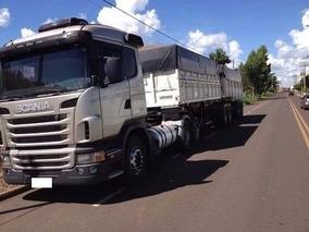 Scania G 420 6x2 10 / 11 + Bi Caçamba Condição Especial Auto